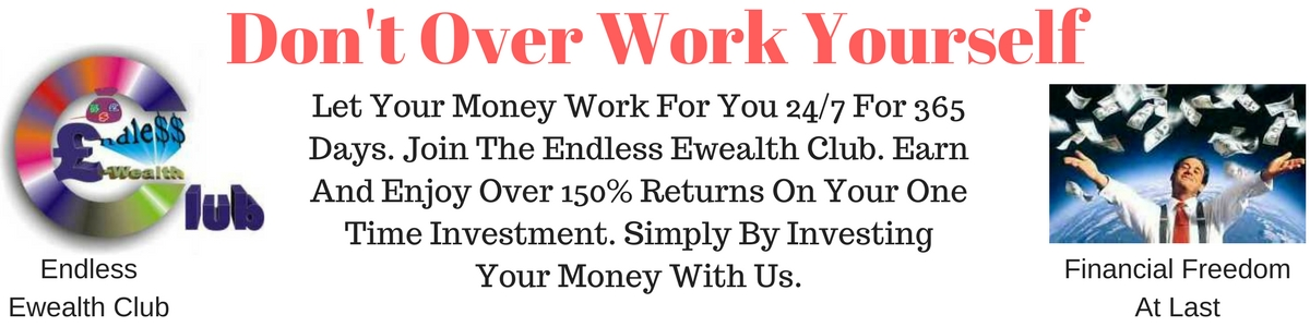 Let Your Money Work For You 24/7 for 365 Days.